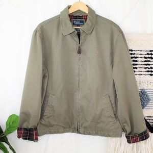 Polo By Ralph Lauren Men's Army Green Jacket